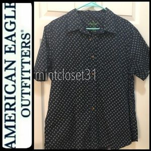 American Eagle Outfitters Polo Top
